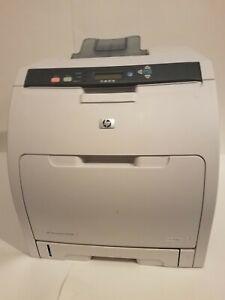 HP LaserJet CP3505N Laser Printer No Toner