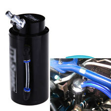 Car Oil Reservoir Catch Can Tank Kit Black For Subaru Outback WRX STI Forester