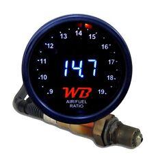 APSX V2 Anti-Glare D2 Digital Wideband O2 AFR Gauge & Sensor Kit Black & WHITE