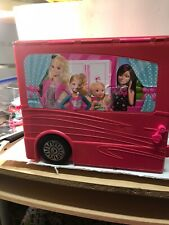 2012 Barbie Sisters Mobile Home Deluxe Camper RV Vehicle PLAYSET