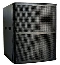 """PA LAUTSPRECHERBOX LEERGEHÄUSE SUBWOOFER 18""""/ 46cm MULTIPLEX BIRKE 18mm"""