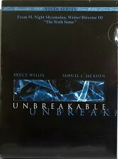 Unbreakable Dvd Pg-13 Vista Series Bruce Willis Samuel L Jackson
