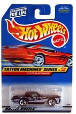 1998 Hot Wheels #687 Tattoo Machine Series #3 Stutz Blackhawk (red car card)