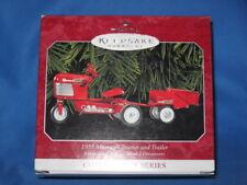 Hallmark Keepsake Ornament - 1955 Murray Tractor and Trailer - #5 in Series