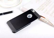 NEW Ultra Slim Brushed Metal Aluminium Back Case Cove For Samsung & Apple iPhone