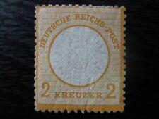 DEUTSCHES REICH Mi. #24 rare mint Brustschild Shield stamp! CV $780.00