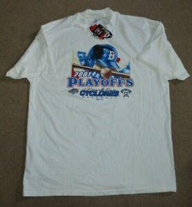 NWT Brooklyn Cyclones Baseball 2001 Playoffs Shirt XL Mets New York Penn League