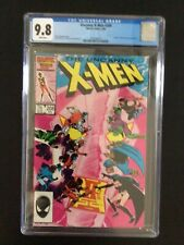CGC 9.8 Uncanny X-Men 208 White Pages - Free Shipping