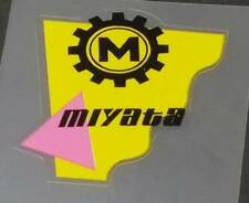 Miyata Head Badge Decal - Yellow (sku Miya717)