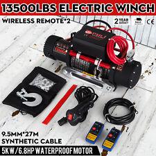 Treuil électrique Corde 12V Traction 6123.5KG synthétique Remorque Bateau