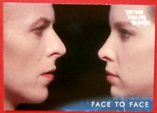 DAVID BOWIE - The Man Who Fell To Earth - Card #26 - Face To Face - Unstoppable