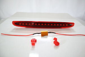 RED LED 3rd Third Brake Light Lamp For 1998~2006 Smart Car Fortwo 450 Coupe