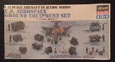 New Factory Sealed 1/72 U.S. Aerospace Ground Equipment Set - Hasegawa X72-6