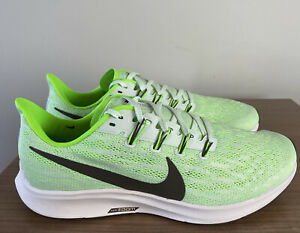 NIKE AIR ZOOM PEGASUS 36 PHANTOM GREEN UK8 EUR42.5 MENS RUNNING TRAINERS GENUINE