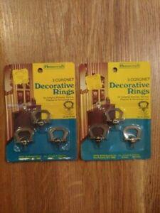 Homecraft Coronet Decorative Rings 2 Pack