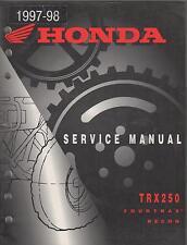 1997-1998  HONDA ATV TRX250 FOURTRAX RECON SERVICE MANUAL (106)