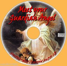 GUIDED MEDITATION WITH YOUR GUARDIAN ANGEL AUDIO CD PEACE RELAX PEACE MIND/BODY
