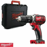 Milwaukee M18BPD-0 18v RED Li-ion Combi Hammer Drill With Case