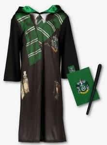 BRAND NEW AND UNWORN ( HARRY POTTER SLYTHERIN  COSTUME ) BRILLIANT COSTUME