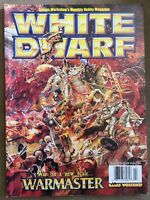 White Dwarf Games Workshop #243 April War on a New Scale Warmaster