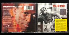 MILES DAVIS / THE ESSENTIAL ( BEST OF )  2 AUDIO MUSIC CD SET