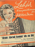 """Lehar :  """" Heute Abend komm' ich zu Dir """" ~ aus """" Der Zarewitsch """""""