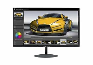 "Sceptre E275W 1920 Monitor HDMI VGA Build In Speakers 75Hz 27"" Metal Black New"