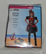 Girl Dainty Pirate Halloween Costume Small 4-6  NWT