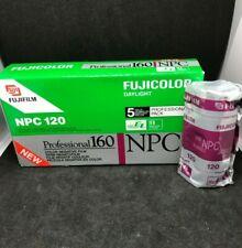 1x Fujicolor NPC 160 Professional 120 film expired film
