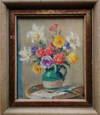 Contemporary (1980-Now) Oil Floral Art Paintings