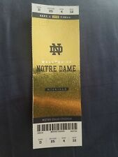 2018 Michigan Wolverines vs Notre Dame Fighting Irish Football Ticket Sm Crease