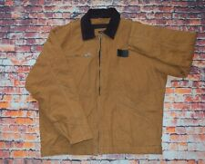 Vintage The Black Dog Chore Worker Workwear Jacket Carhartt Brown Large