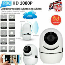 Wireless IP Camera Smart Home Security CCTV Baby Monitor Audio and Night Vision