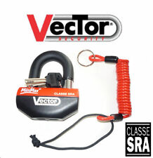 Padlock u Block Disc Safety Scooter Motorcycle Minimax + Approved Insurance Sra