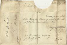 1798 Raro Hull UDC Con Estrella PMK-Thomas Hallam Carta re Rochdale Canal comparte