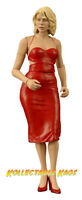 "Battlestar Galactica - 7"" Series 1 Caprica Six - Red Dress NEW IN BOX"
