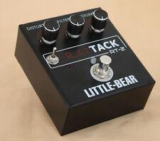 Little bear Guitar Distortion TURBO StompBox Pedal effector Motolora LM308AN AU