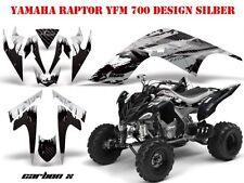 Amr racing décor Graphic Kit ATV yamaha raptor 125/250/350/660/700 carbone-x B