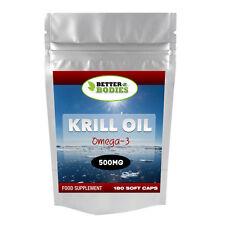 Rojo aceite de Krill Superba Extra resistencia 500mg 180 Cápsulas