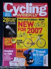 CYCLING WEEKLY - LANCASHIRE ROUTES TO RIDE - DEC 7 2006