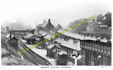Ferndale Railway Station Photo. Maerdy - Tylorstown. Port Line. Taff Vale. (2)