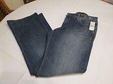 Indigo Palms denim company medium wash 12 R regular women's jeans Low rise flair