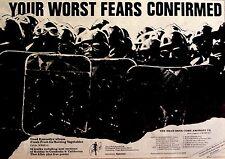 DEAD KENNEDYS 1980 Advert FRESH FRUIT FOR ROTTING VEGETABLES