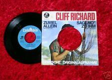 """Single 7""""  Cliff Richard - Zuviel allein / Sag No zu ihm"""