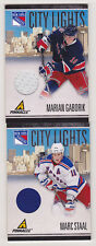 10-11 Pinnacle Marc Staal City Lights Jersey /499