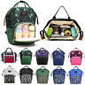 2019 Baby Diaper Nappy Mummy Changing bag Backpack Multi-Function Hospital Bag