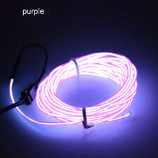 Neon LED Light Glow EL Wire String Strip Rope Tube Car Dance Party+Controller+BY