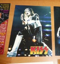 Kiss 1997 Promo Card CARTE P3 Gene Simmons Cornerstone NM