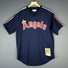 7ac193b20 100% Authentic Reggie Jackson Mitchell   Ness Angels BP Jersey Size M 40  Mens