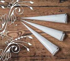 3 X iNDIAN WHITE PASTE -TEMPORARY TATTOO - FOR MEHNDI AND HENNA DESIGNS JT3